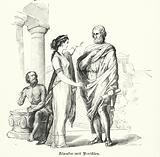 Aspasia and Pericles, Athens, 5th Century BC