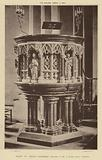 Pulpit, St Albans Cathedral