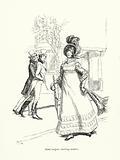 Illustration for Jane Austen's Emma
