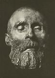Death mask: Friedrich Hebbel, 1813–1863