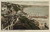 Pier and Sands from West Cliff, Bournemouth