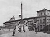 Roma / Rome: Palazzo Reale, Piazza Del Quirinale
