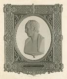 William Wordsworth, after a bust by Sir F Chantrey, RA