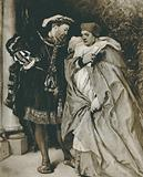 King Henry VIII and Cardinal Wolsey