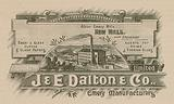 Messrs J and E Dalton and Co, Limited, Albion Emery Mills, New Mills, near Stockport
