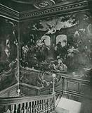 "Hogarth's ""Pool of Bethesda,"" in St Bartholomew's Hospital"