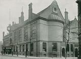 Finsbury Town Hall, Rosebery Avenue