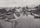 Kingston from its Harbor, Jamaica