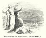 Proclaiming the New Moon, Psalm lxxxi, 3