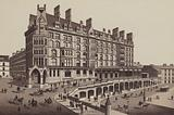 Glasgow: St Enoch's Hotel and Station