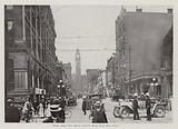 Toronto: Street Scene, Bay Street, Looking North from King Street