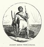 Ancient Briton with Coracle