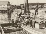 Canada: Fishing Boat, Seal Cove Harbour, Grand Manan Island, New Brunswick