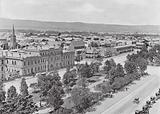 Australia: View of Adelaide, Showing wide Streets and Planted Squares, South Australia