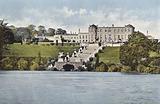 Ireland: Powercourt House, County Wicklow, Seat of Viscount Powercourt