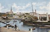 Ireland: Kingstown, West Pier, County Dublin