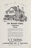 Advertisement in London and Suburbs Old and New, 1934