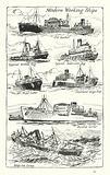 Modern Working Ships