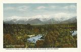 Presidential Range in September from the Mount Washington, Bretton Woods