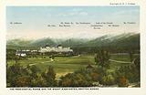 The Presidential Range and the Mount Washington, Bretton Woods
