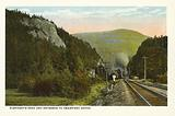 Elephant's Head and Entrance to Crawford Notch