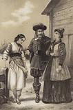 Taken prisoner in Marienburg, the future Catherine I of Russia is ceded to Princess Menshikov