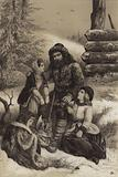 Prince Menshikov banished to Siberia, 1727