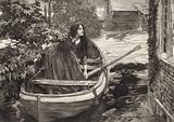 Scene from The Mill on the Floss, by George Eliot