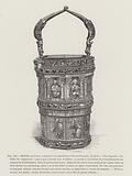 Ivory holy water font from Aachen Cathedral, 10th Century