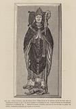 Pierre Cauchon, Bishop of Beauvais, who presided over the trial of Joan of Arc