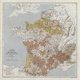 Map of France at the time of Joan of Arc, 1429–1430