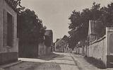 Street in Barbizon, home village of French artist Jean-Francois Millet