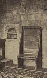 Bede's Chair in Jarrow Church, Durham