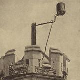 Beacon on the tower of St Mary the Virgin Church, Monken Hadley, London