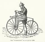 "The ""Boneshaker"" or Bicycle of 1868"