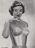 Illustration for Duo catalogue of bras, c 1955
