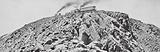 Colourado, Rocky Mountains: Panoramic view of the summit of Pike's Peak, Altitude 14,147 feet
