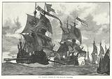 The Armada coming up the English Channel