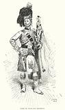 Piper of Highland Regiment