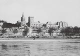 Avignon: Vue generale du Palais des Papes