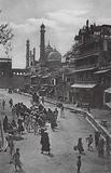 The Bazar Juma Musjid, Delhi, India