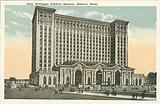 New Michigan Central Station, Detroit, Michigan