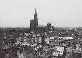 Strasbourg / Strasburg: La Palais des Rohans et la Cathedrale