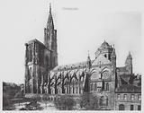 Strasbourg / Strasburg: La Cathedrale, Cote sud
