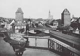 Strasbourg / Strasburg: Les vieilles tours aux Ponts couverts