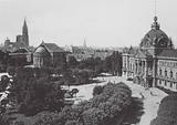 Strasbourg / Strasburg: Place de la Republique et Palais du Rhin