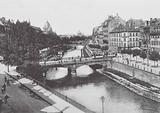 Strasbourg / Strasburg: Les Quais de l'Ill, Panorama des Ponts