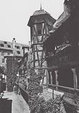 Strasbourg / Strasburg: Cour du Corbeau