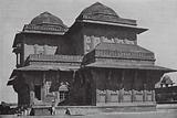 India: The Palace of Birbal, Akbar's Hindu Minister, Fatehpur-Sikri