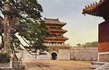 Manchuria: Ryoun-mon Gate of Mukden North Tomb